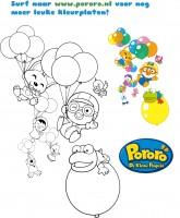 Ballonnen vlucht